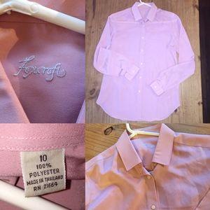 FoxCroft Dusty Pink Shirt